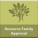 Resource Family Approval web page
