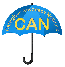 Caregiver Advocacy Network Umbrella Logo