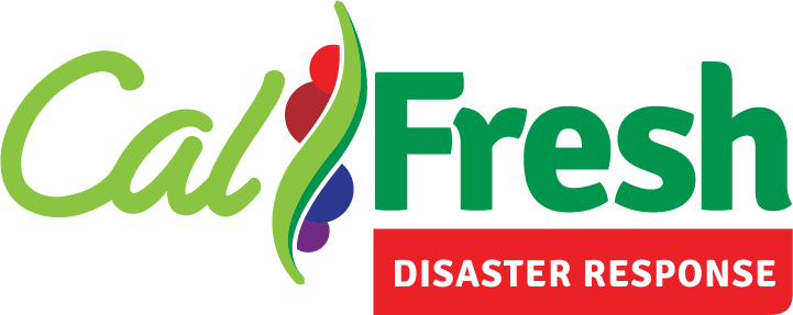 CalFresh Disaster Response Text Logo