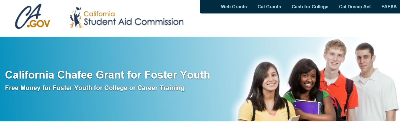 Image result for california chafee grant for foster students 2019