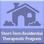 Short Term Residential Therapeutic Program web page