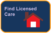 Button to find licensed care webpage